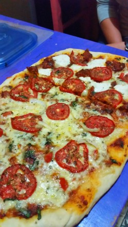 pizza from scratch- party