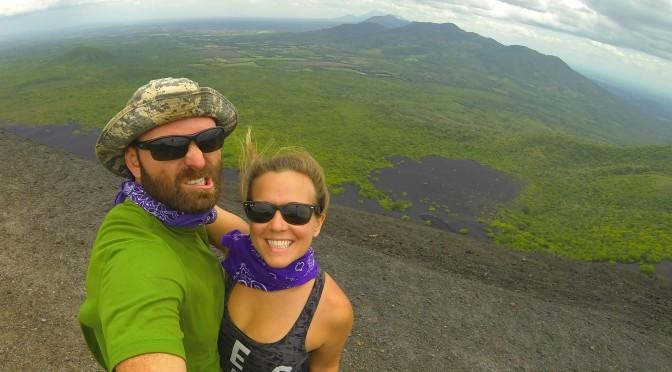 Volcano Boarding down Cerro Negro ;)