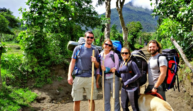 Bucket list: Hike a yuge Volcano in Guatemala, check.